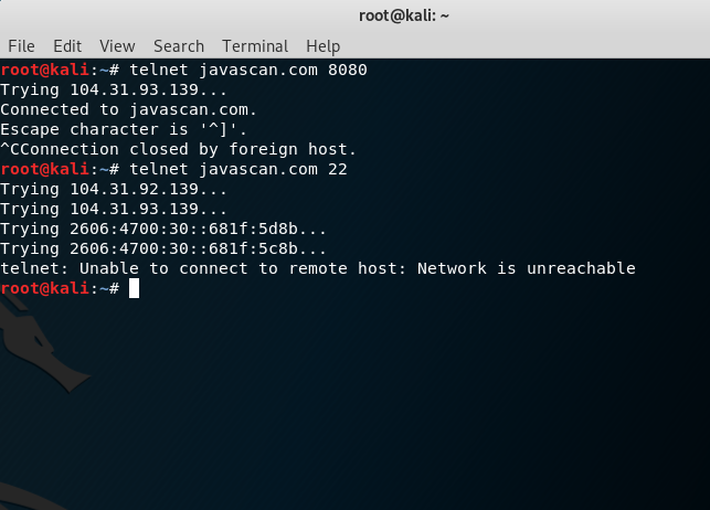 Telnet Command In Linux