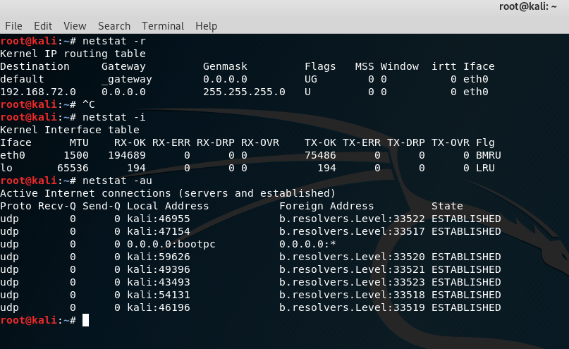 Netstat Command In Linux