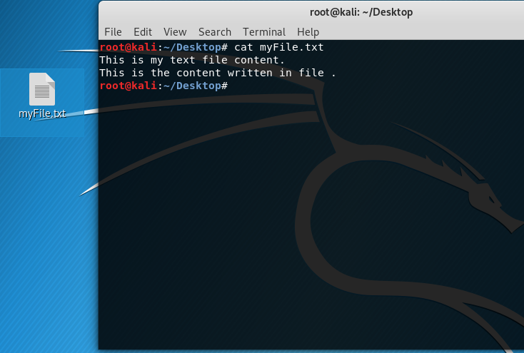 Linux Command To View File Content