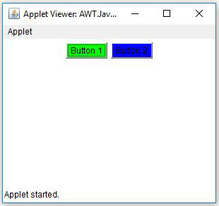AWT Button Background In Java Example