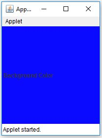 JLabel Background Color In Java Example