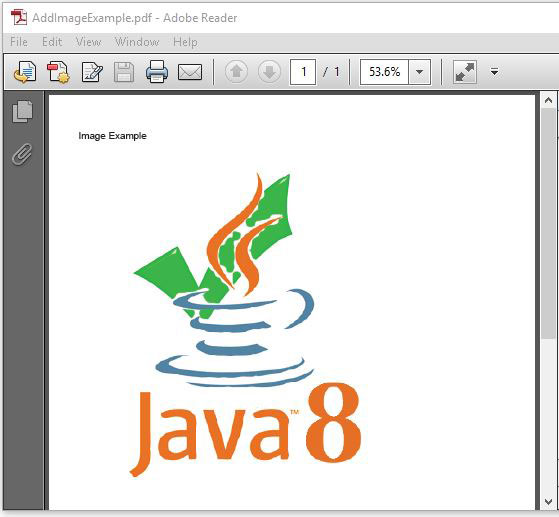 Add Images To PDF In Java Using iText