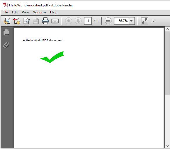 Read OR Modify PDF File In Java Using iText - JavaScan com