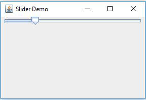 JSlider Horizontal With Custom Value In Java